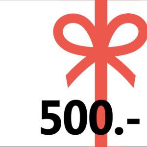 Gutschein 500 kl